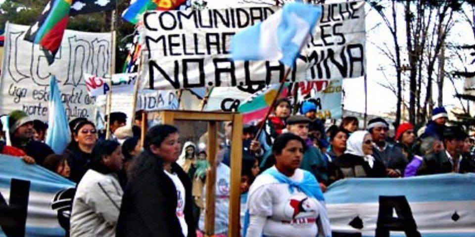 Fallo contra mapuches de Loncopue y a favor de la minera