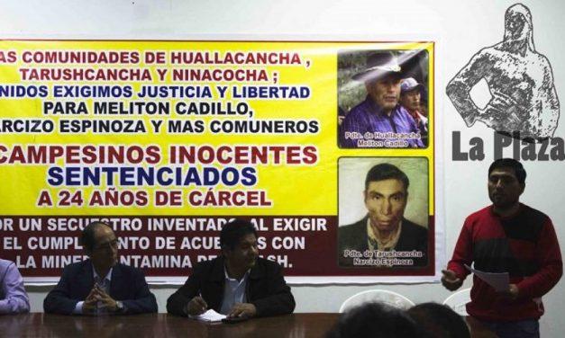 Campesinos de San Marcos que luchan contra minera Antamina son perseguidos