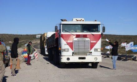 """Desde el límiteentre Chubut y Río Negro dijeron """"no"""" a la central nuclear"""