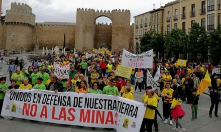 Tres plataformas medioambientales claman contra las minas en Ávila
