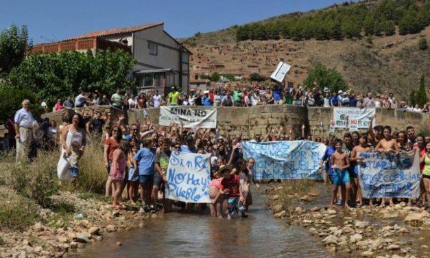 Intiman a empresa de mina de Borobia por vertido ilegal al río Manubles