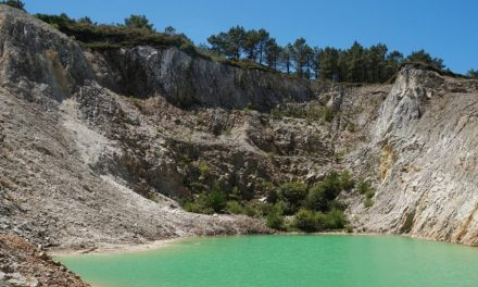Preocupación por lago tóxico minero en Galicia