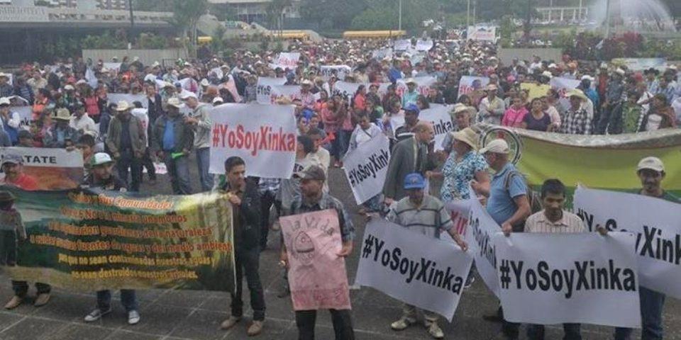 Pueblo Xinca demanda cese definitivo operaciones mina San Rafael
