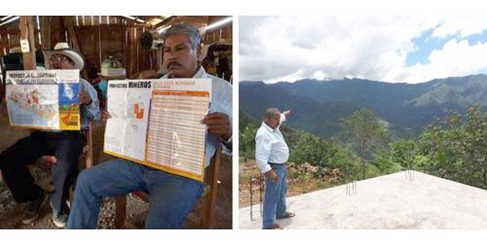 'Solamente muertos nos van a sacar', advierten autoridades municipales contra la minería