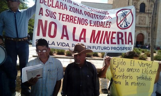 Pueblos indígenas de Oaxaca rechazn nueva incursión de minera de Canadá