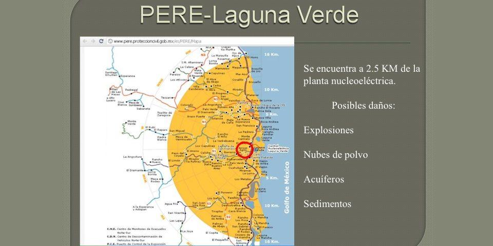 La peligrosidad de la mina Caballo Blanco y su cercania a una central nuclear