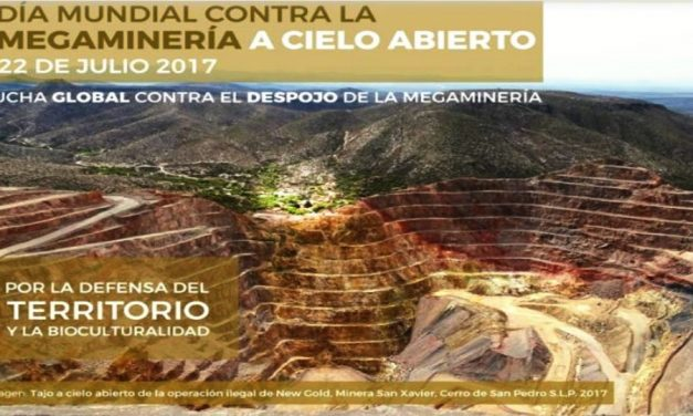 Organizaciones en defensa de la tierra rechazan la minería a cielo abierto