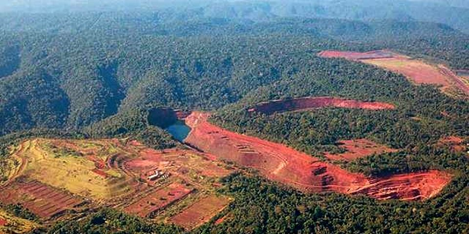 Repudio al programa de revitalización de la minería en Brasil