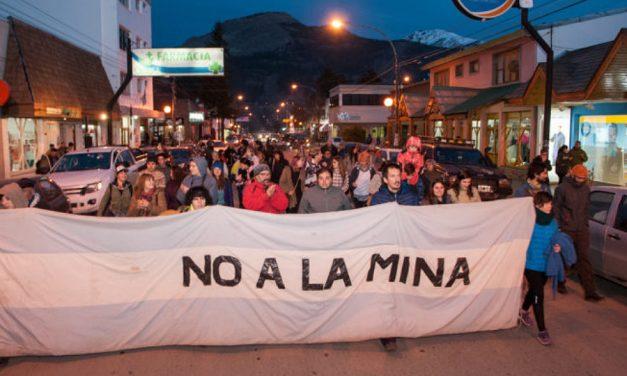 Marcha del NO A LA MINA y contra la central nuclear