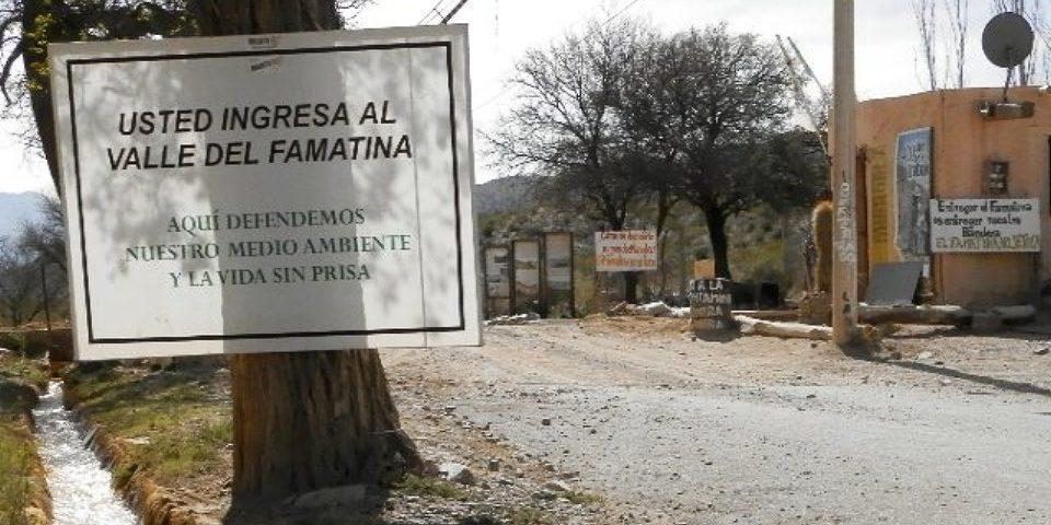 El recuerdo de los héroes de Famatina, el pueblo que enfrentó a la minería