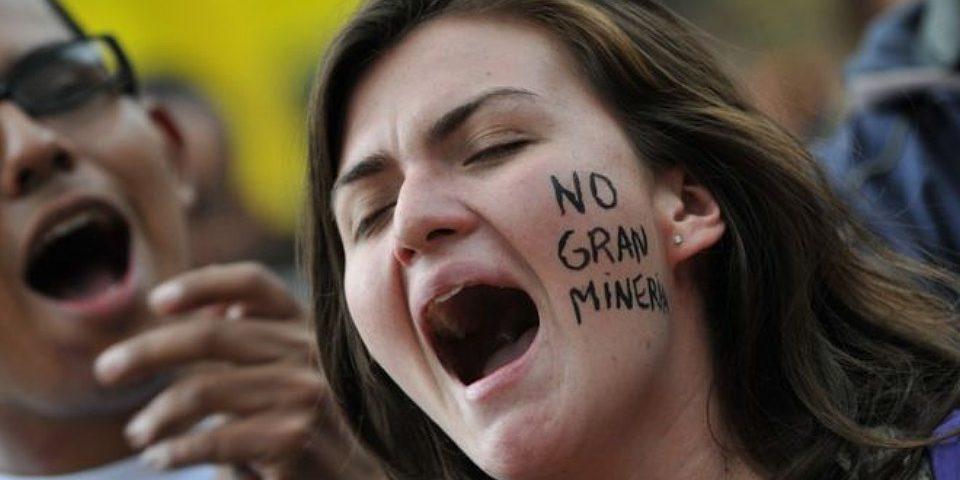 Los conflictos y controversias de la minería de Canadá en América Latina