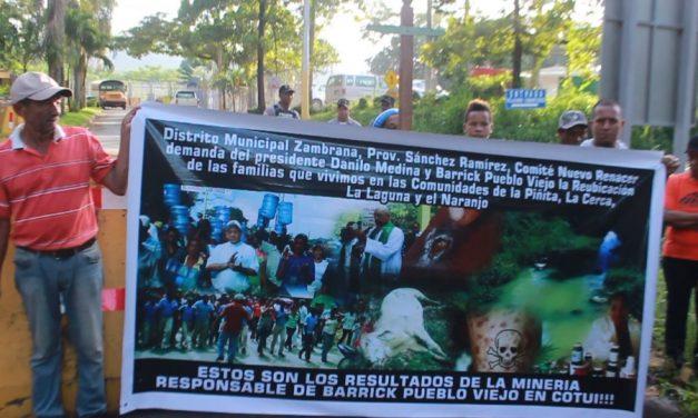 Campesinos de zona minera de Cotuí en vigilia por contaminación