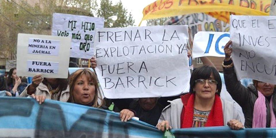 Corte Suprema decidirá sobre pedido oficial para suspender mina de Barrick