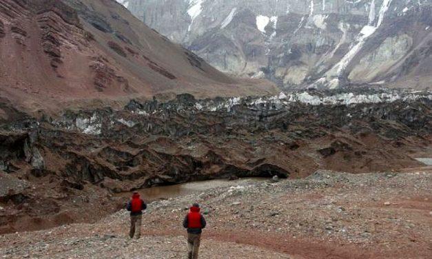 Datos preliminares del inventario de glaciares argentinos de más de 1 hectárea