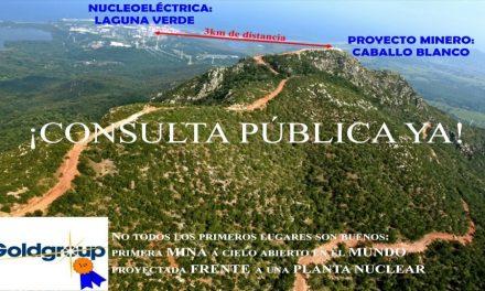 Formalizaron pedido de consulta pública sobre mina Caballo Blanco