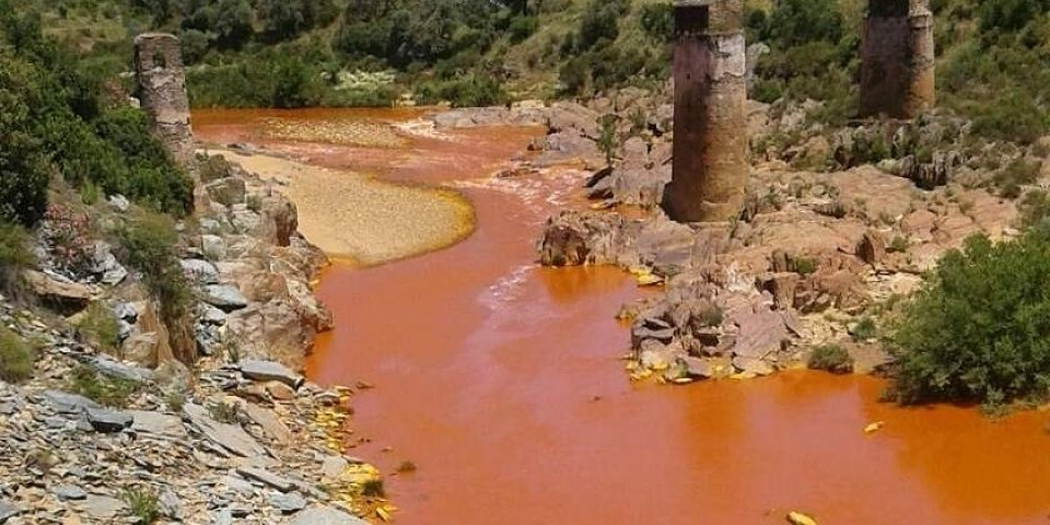 El vertido minero de La Zarza, un «delito» que ha costado 1,2 millones de euros