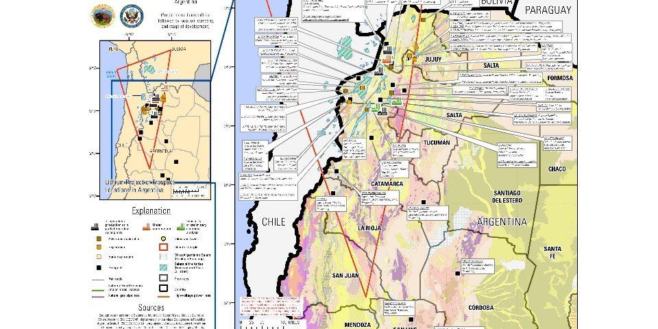"""Informe estadounidense sobre litio argentino: """"Para explotarte mejor…"""""""