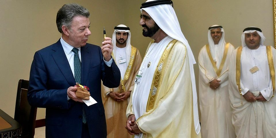 Emiratos Árabes invertirá U$S 1.000 millones para extraer oro en Santurbán