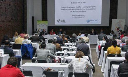 Expertos trabajan para diagnosticar impacto de minería en ecosistemas de Colombia
