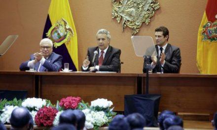 """Presidente de Ecuador: """"No habrá actividad minera si afecta las fuentes hídricas"""""""