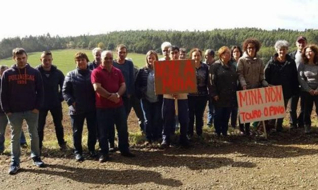 Una mina amenaza el principal banco de marisco de Galicia
