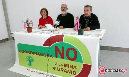 """Se unen colectivos y asociaciones y nace la coordinadora """"No a la mina de uranio"""""""