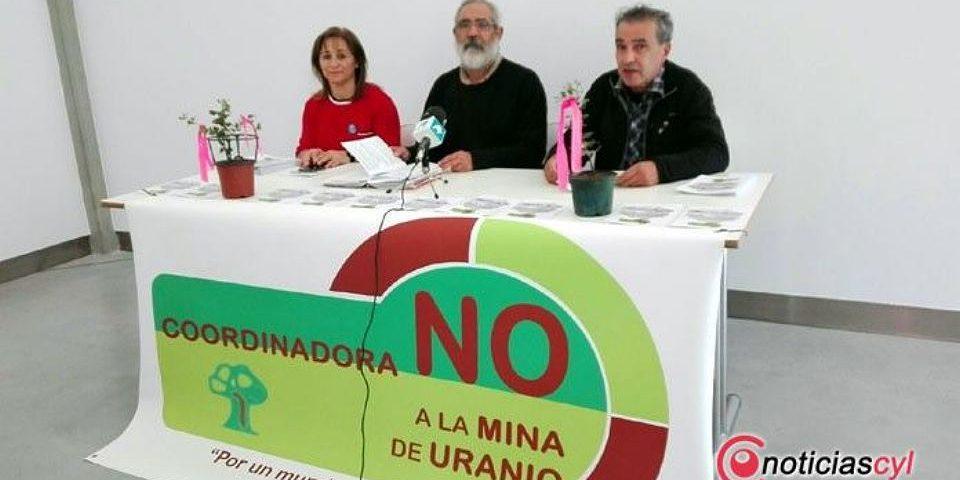 Se unen colectivos y asociaciones y nace la coordinadora «No a la mina de uranio»
