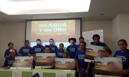 Campaña nicaragüense para concientizar sobre el impacto de la minería industrial
