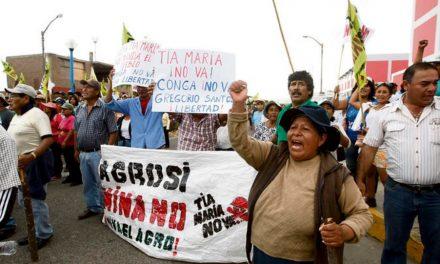 Gobierno peruano por ahora no dará licencia de operación a Tía María