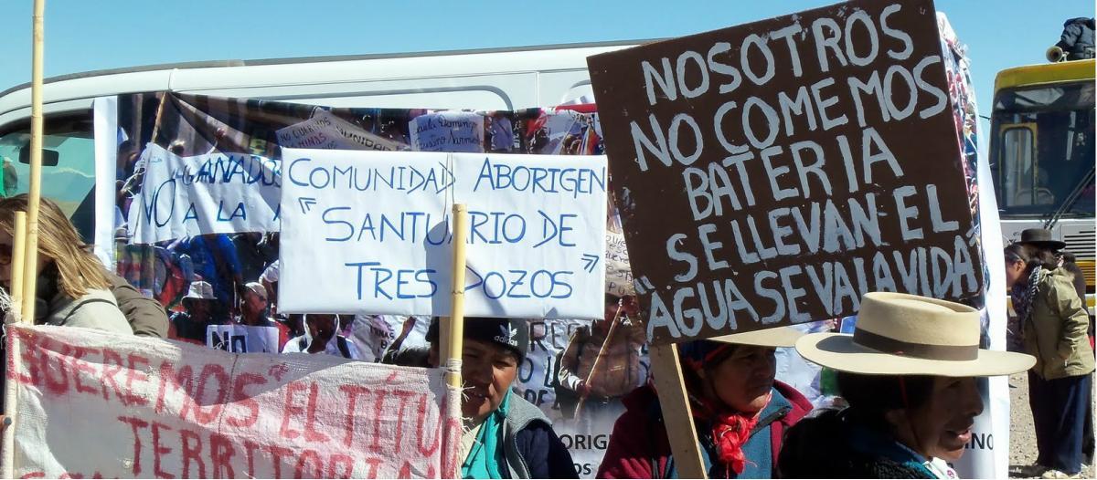 Jujuy entregó tierras de pueblos originarios a una minera