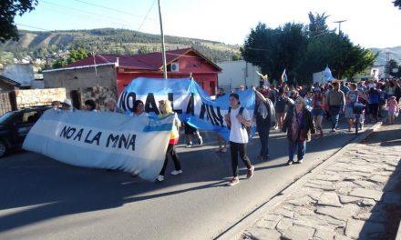 Multitudinaria marcha del NO A LA MINA a 15 años del inicio de las movilizaciones