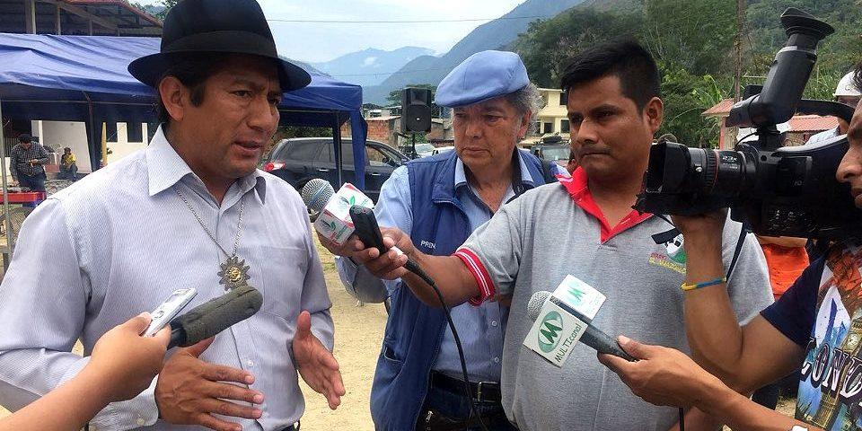 Prefecto de Zamora Chinchipe ratifica lucha contra la minería a gran escala