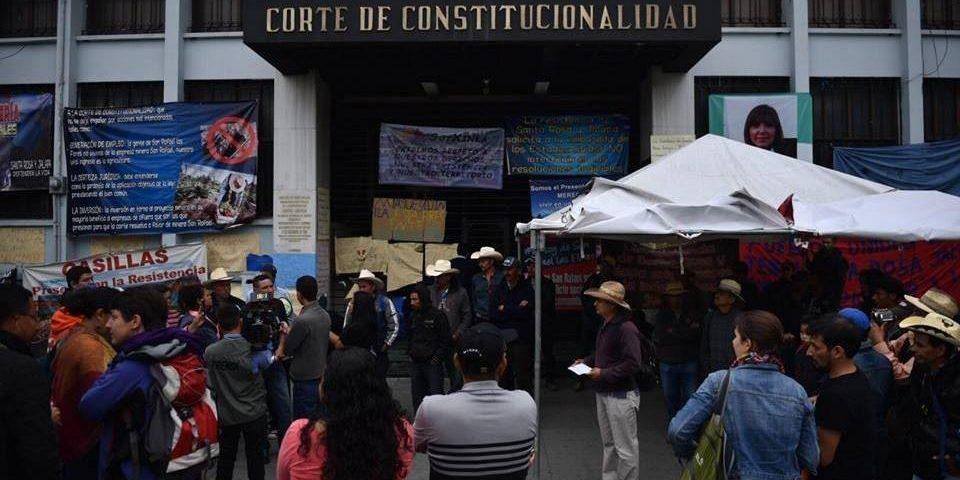 Pobladores de tres departamentos piden a la Corte que suspenda proyecto minero