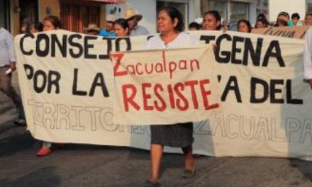 Zacualpan y su lucha contra la minería