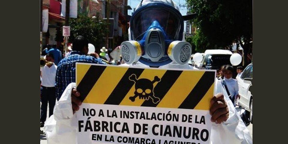 Solicitan revisar proyecto de planta de cianuro en Gómez Palacio