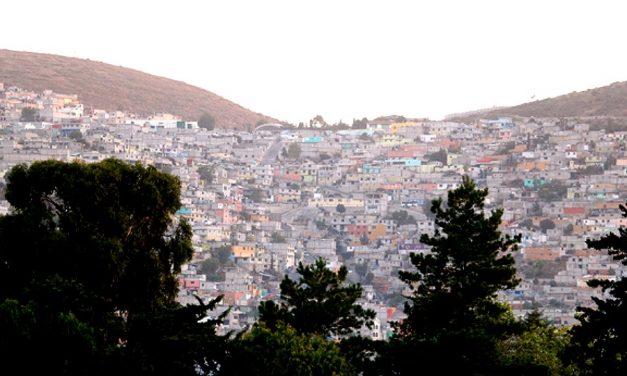 Túneles de mina ponen en riesgo viviendas en barrios de Pachuca
