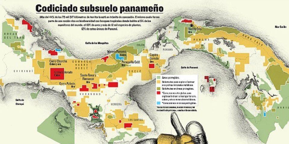 La minería no dejará ni un centavo a Panamá