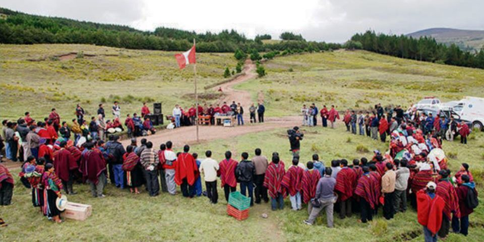 Cañaris acordó reiniciar jornada de lucha contra la minería