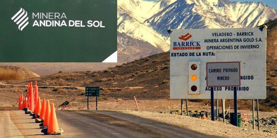 Barrick y sus socios chinos formaron la «Minera Andina del Sol»