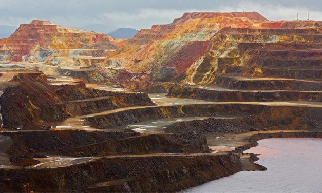Desaparecen 3.000 millones de litros de aguas ácidas en la mina de Riotinto