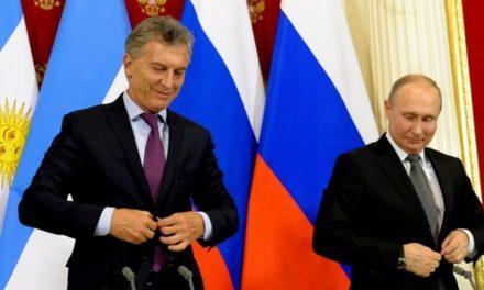 Macri firmó en Rusia un acuerdo con empresas para explotar uranio en Chubut