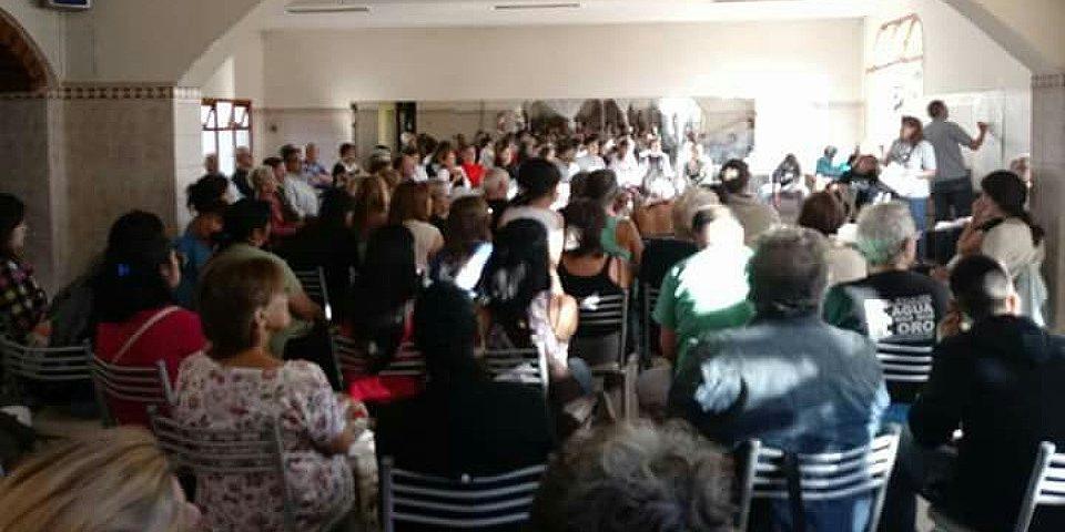 Asamblea en Esquel: muchos vecinos definieron acciones para frenar a las mineras