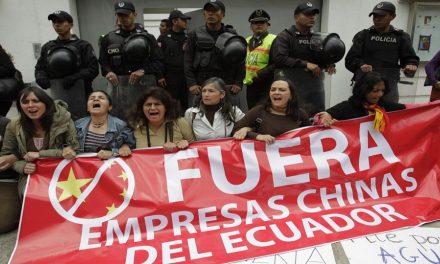 El cuento chino y la violencia minera en Ecuador