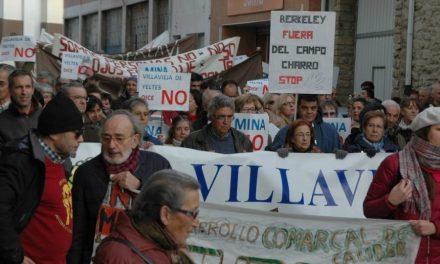 Cientos de personas marcharon en Lumbrales contra la mina de uranio