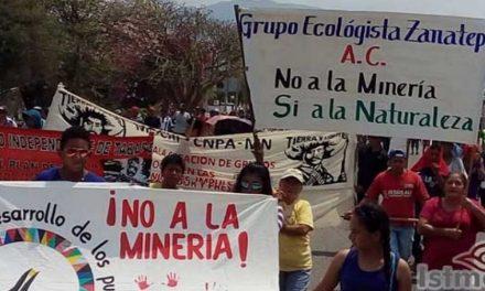 Dicen «no» a la minería en 40 comunidades de Oaxaca