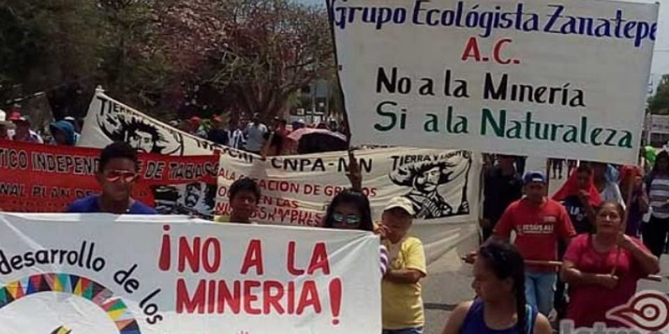 Mantienen resistencia contra mineras del Istmo en Oaxaca