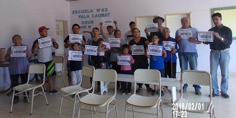 """Comunidad de Yala Laubat, muy cerca del proyecto Navidad, dice """"No es NO"""""""