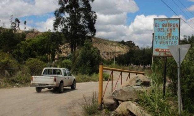 La minería preocupa a los moradores de Nulti