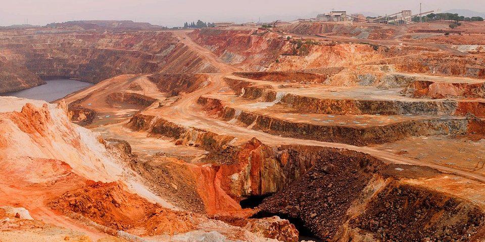 Investigan el destino de tres hectómetros cúbicos de aguas ácidas de la mina de Riotinto