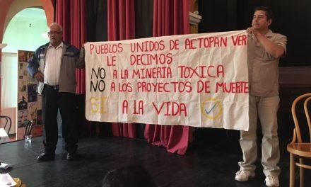 Comunidades veracruzanas se declaran libres de minería